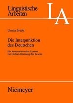 Die Interpunktion des Deutschen