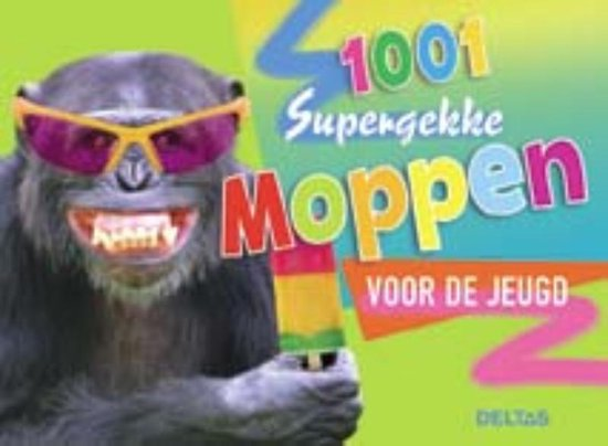 Cover van het boek '1001 supergekke moppen voor de jeugd'