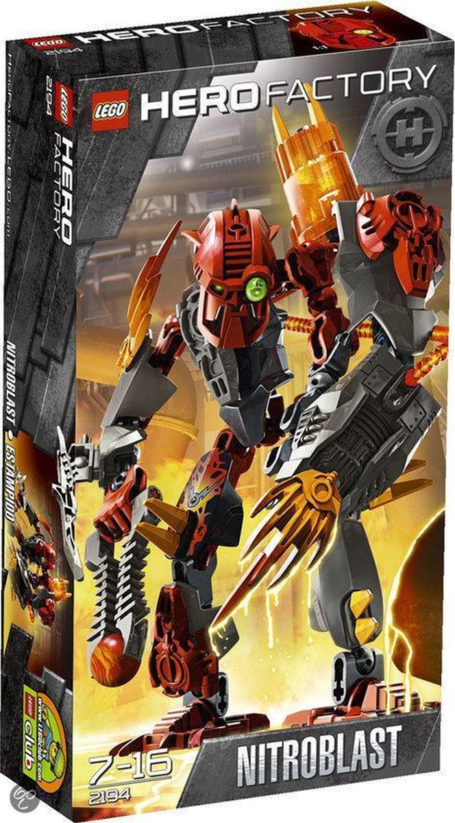 LEGO Hero Factory Nitroblast - 2194
