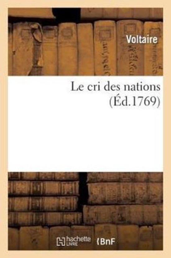 Le cri des nations