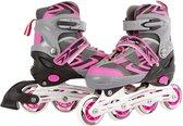 Skates Roze 39-42 - Skeelers Meisjes Verstelbaar