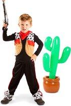 Cowboy - Kinderkostuum - 3-delig - Maat S