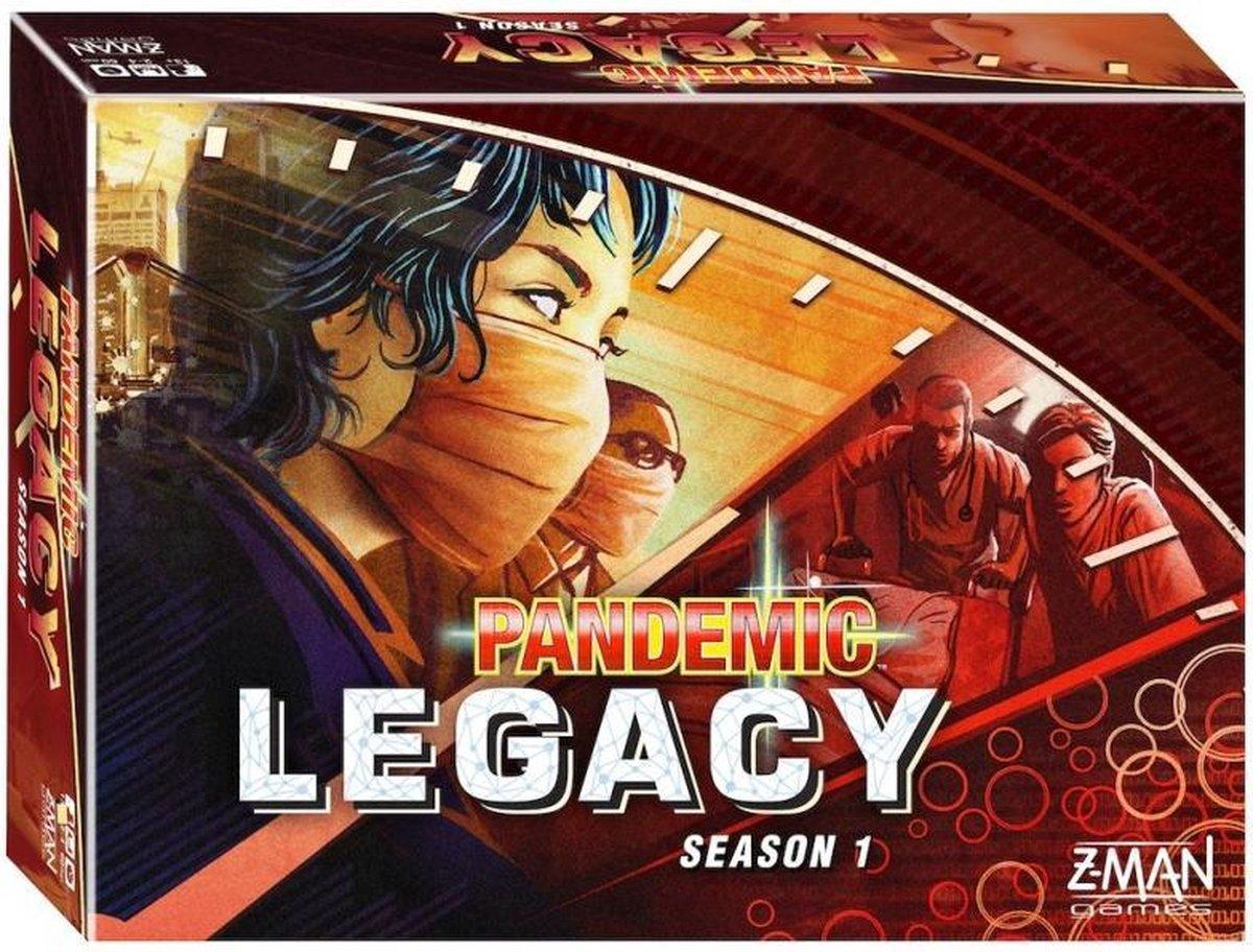 Pandemic Legacy Red - Bordspel - Engelstalig Bordspel