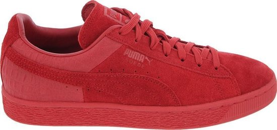 bol.com | Puma Sneakers Suede Classic Casual Heren Rood Mt 42.5