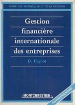 Gestion financière internationale des entreprises