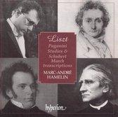 Liszt: Paganini Studies And Schubert March Transcr