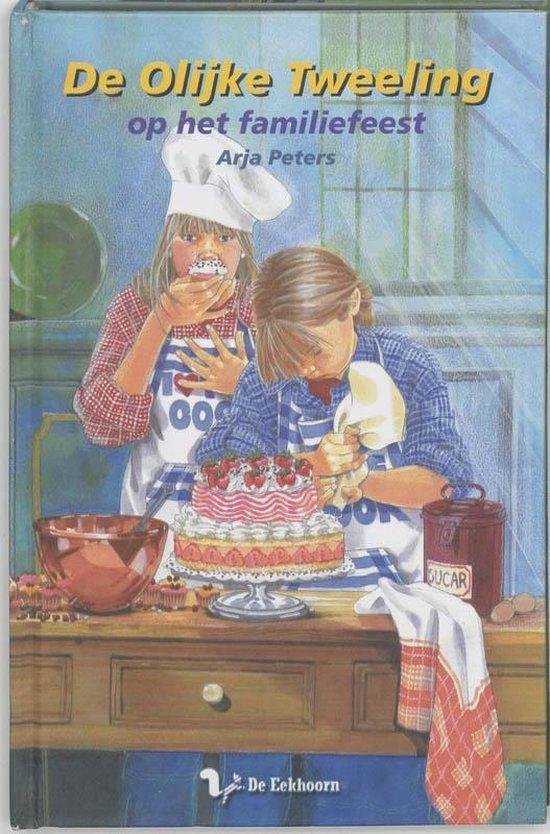 De olijke tweeling 10 - De olijke tweeling op het familiefeest - Arja Peters | Readingchampions.org.uk