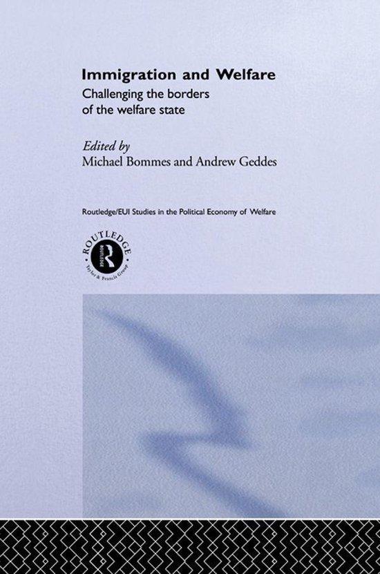 Boek cover Immigration and Welfare van Michael Bommes (Onbekend)