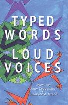 Boek cover Typed Words, Loud Voices van