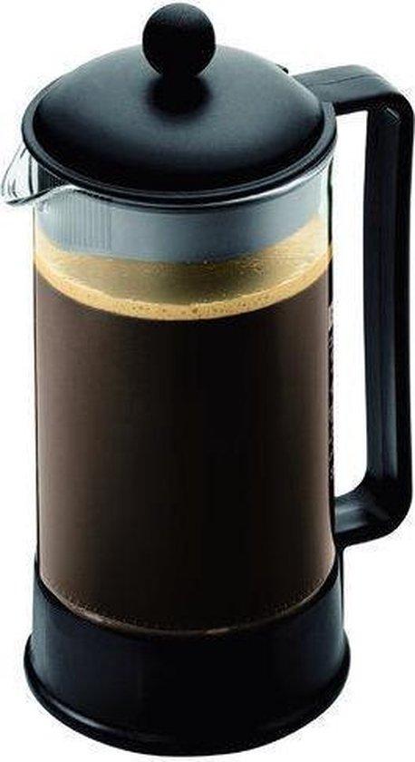 Bodum Brazil Cafetiere - 8 Kops - 1.0 L - Zwart