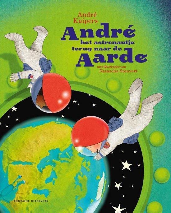 Afbeelding van André het astronautje terug naar de aarde