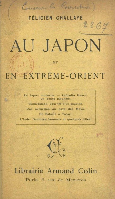 Au Japon et en Extrême-Orient