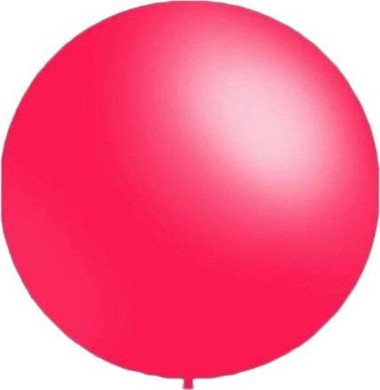 50 stuks - Decoratieballonnen fuchsia 28 cm pastel professionele kwaliteit