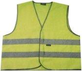 Wowow Veiligheidsvest Mesh Gilet Fluorgeel Maat Xl