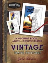 Vintage Travel Postcards Coloring Book