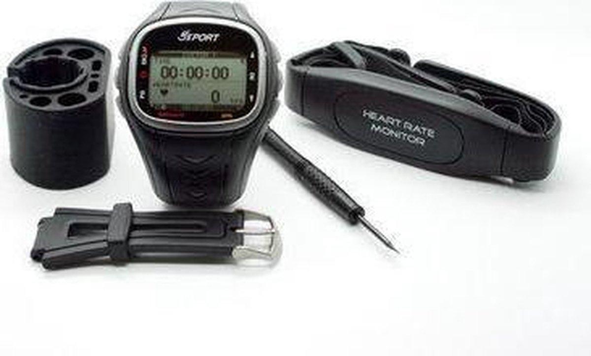 GPS hardloophorloge met hartslagsensor & Calorieverbruiksweergave - GSSport globalsat