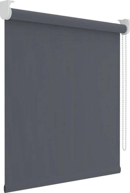 Decosol Rolgordijn Verduisterend - 210x190 cm - Antraciet