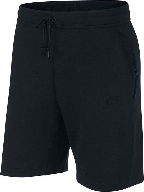 Nike Sportswear Tech Fleece Short Heren Sportbroek Maat L Mannen zwart