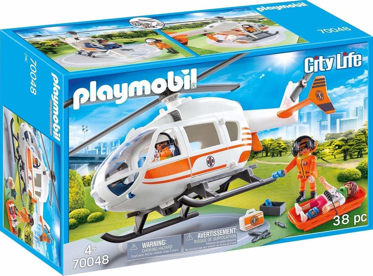 PLAYMOBIL City Life Eerste hulp helikopter - 70048
