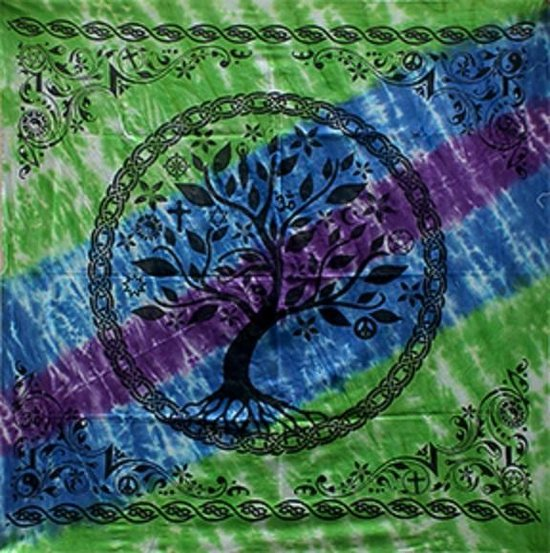 ≥ mexicaanse tree of life 92 x 65cm - Woonaccessoires | Overige ... | 553x550