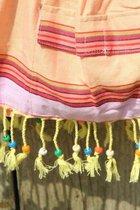 Kikoy Beach Baggie Sweet Orange - Kleine Strandtas - Kikoy Handtas