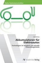 Akkumulatoren Fur Elektroautos