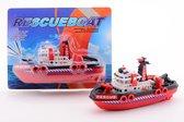 Afbeelding van City Rescue havenboot - 30 cm speelgoed