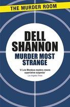 Omslag Murder Most Strange