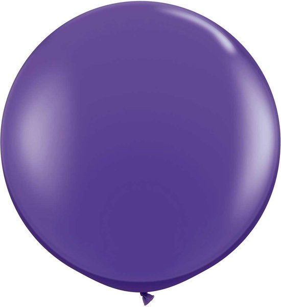 Megaballon Paars Violet 95 cm 1 stuks