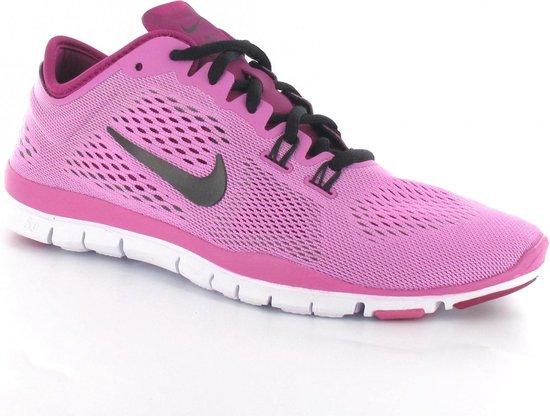 Nike Free 5.0 Training Fit 4 Hardloopschoenen Barefoot Vrouwen Maat 36 Roze Zwart