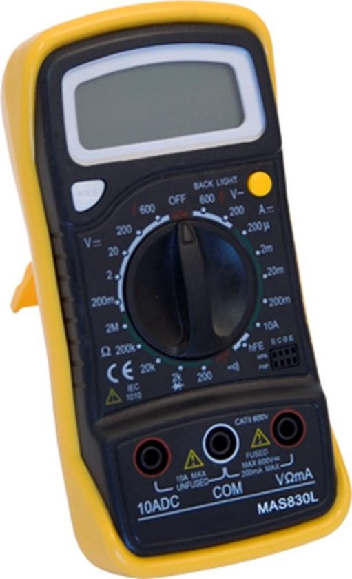 Ironside - Multimeter digitaal