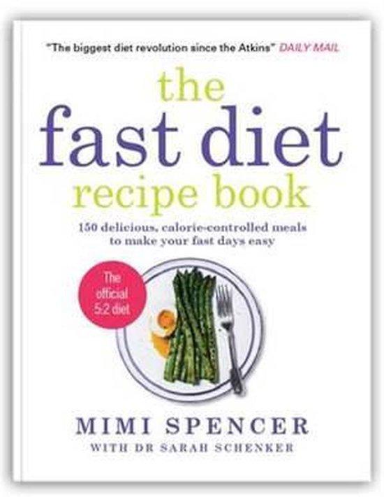 Boek cover The Fast Diet Recipe Book van Mimi Spencer (Onbekend)