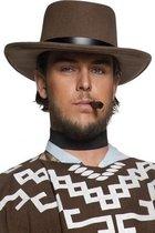 Heren cowboy hoed bruin