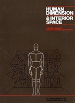 Boek cover Human Dimension And Interior Space van Julius Panero (Hardcover)