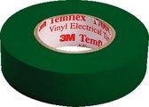 MMM zelfkl tape Temflex 1500, PVC, groen, (lxb) 10mx15mm