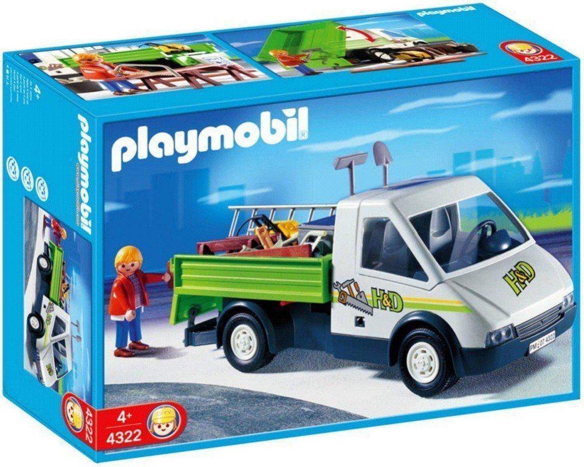 Playmobil Onderhoudswagen met Klusjesman