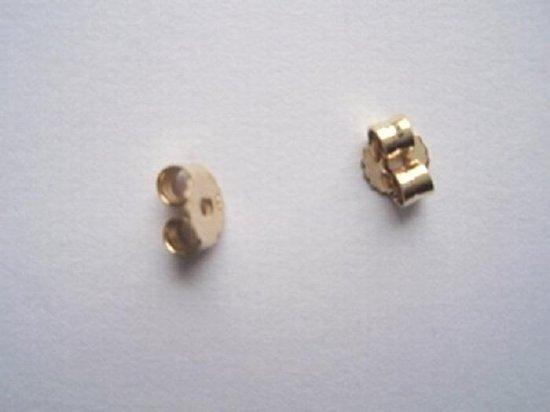 Robimex Collection Achterkantjes voor Oorbellen 14 krt -  Goud