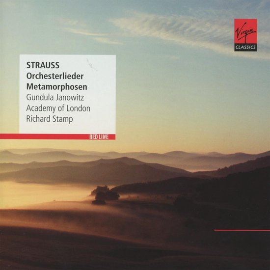 CD cover van R. Strauss: Songs With Orchest van Gundula Janowitz