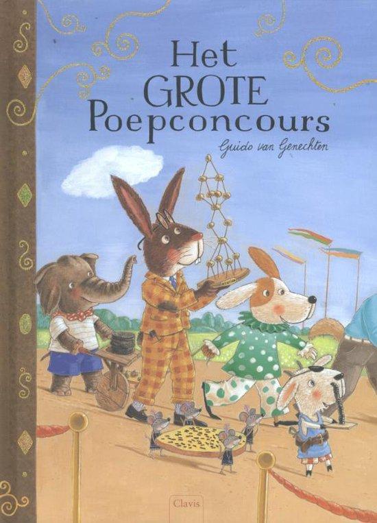 Het grote poepconcours - Guido van Genechten | Readingchampions.org.uk