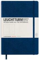 Leuchtturm1917 Notitieboek Navy Blue - Medium - Puntjes
