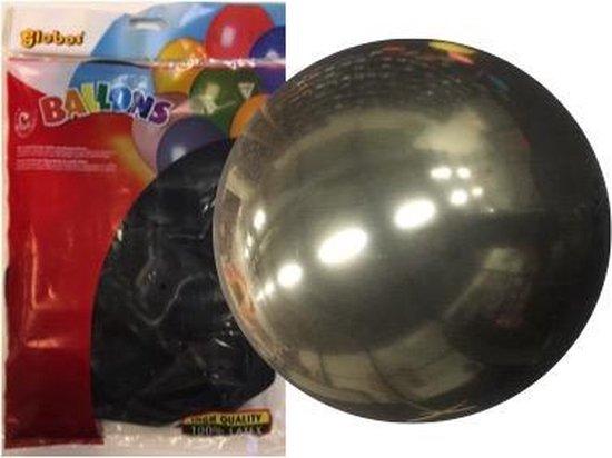 Ballonnen Zwart - Groot - 91cm (6 stuks)