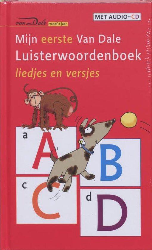Boek cover Mijn Eerste Van Dale Luisterwoordenboek van Liesbeth Schlichting (Hardcover)