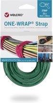 Velcro One-Wrap klittenband kabelbinders 200 x 12mm / groen (25 stuks)