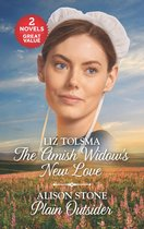 The Amish Widow's New Love and Plain Outsider