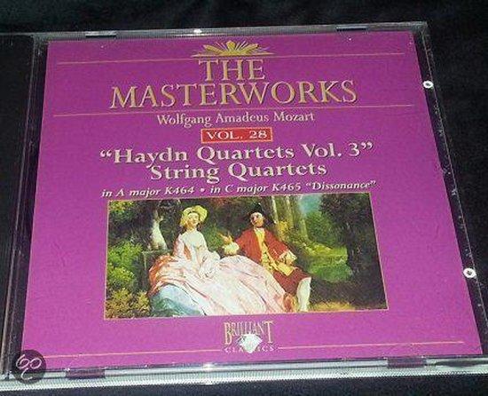 Mozart: Haydn string quartets vol. 3