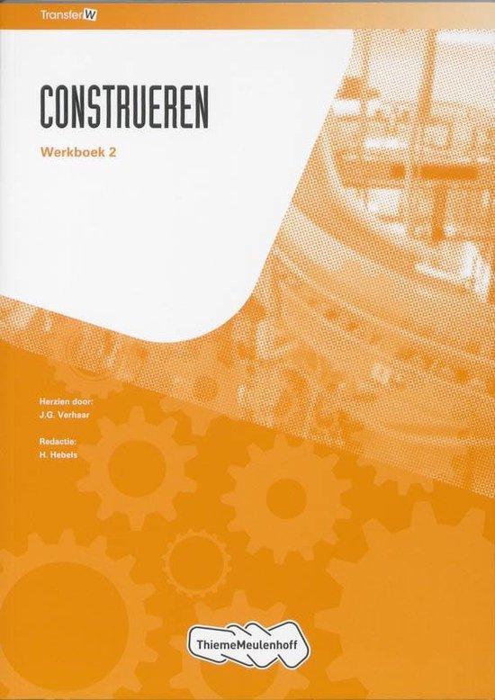 TransferW - TransferW construeren 2 Werkboek - J.G. Verhaar |