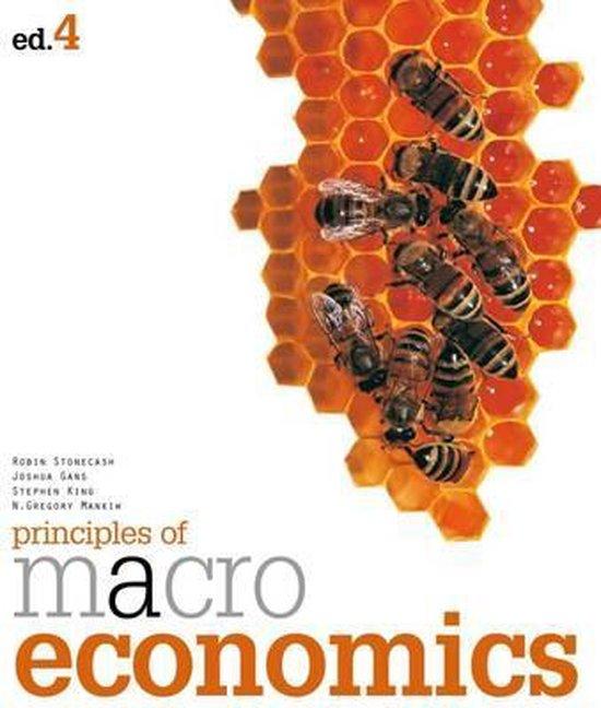 Boek cover Principles of Macroeconomics van Robin Stonecash