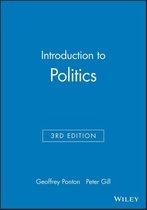 Boek cover Introduction to Politics van Geoffrey Ponton