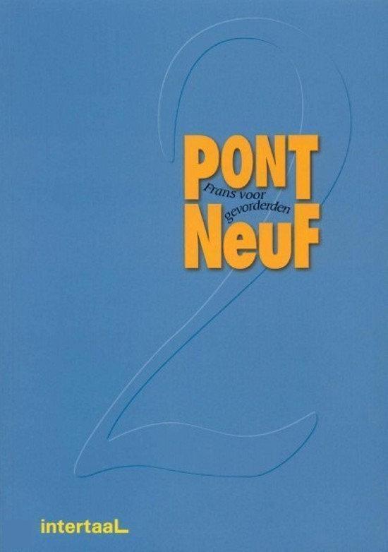 Tekstboek Pont Neuf 2 - Onbekend   Fthsonline.com