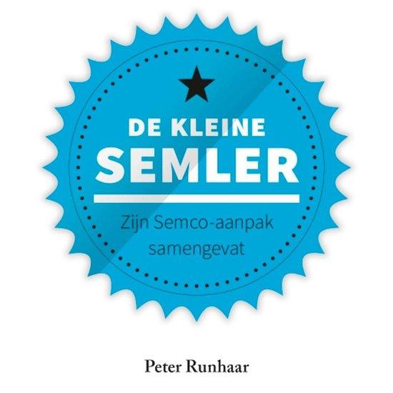Boek cover De kleine Semler van Peter Runhaar (Onbekend)